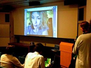 projector Skype